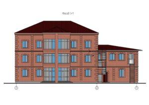 проект гостиничного комплекса